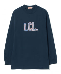 LES CINQ LETTRES. × BEAMS T / 別注 College Long Sleeve Tee