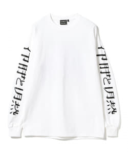 GOODHOOD × UND × BEAMS T / face Long Sleeve Tee