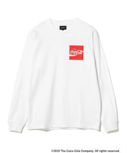 Coca Cola by BEAMS / Have a Coke ロングスリーブ Tシャツ