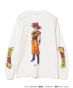 F-LAGSTUF-F × DRAGON BALL / GOKU Long Sleeve Tee