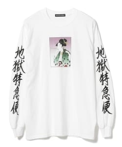 F-LAGSTUF-F / -Delivery Hells- 地獄特急便 Long Sleeve Tee 19AW