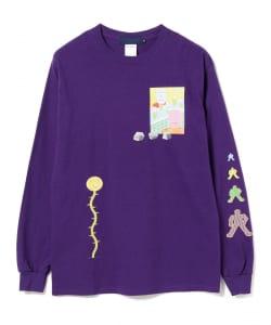 BEAMS T / MAKE ART NOW Long Sleeve Tee -ミズコシトモミ-