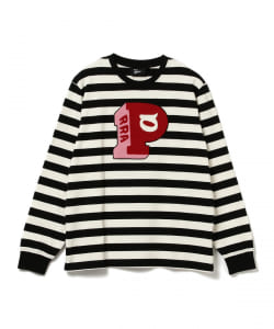 by Parra / Block P Striped Long Sleeve Tee