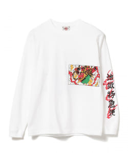 F-LAGSTUF-F / -Delivery Hells- 地獄特急便 × BUENA VISTA × HQ LONG SLEEVE TEE