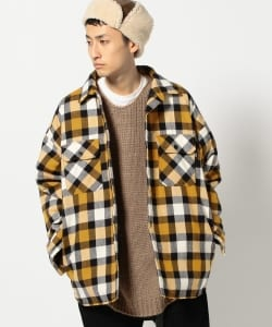 VAPORIZE / Paded Check Shirt
