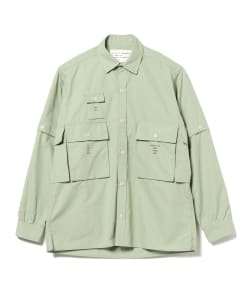 MOUNTAIN RESEARCH × BEAMS PLUS / LUGGAGE WEAR RESEARCH カーゴ シャツ