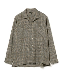MOJITO / ABTHINTH SHIRT houndstooth glen check