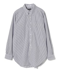 ENGINEERED GARMENTS / 19th BUTTON DOWN Shirt-NARRROW STRIPE BROAD CLOTH