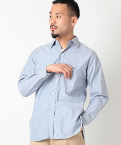 WAREHOUSE × BEAMS PLUS / 別注 MIL OXFORD SHIRT