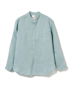 dip × BEAMS PLUS / 別注 PULLOVER STAND COLLAR SHIRT