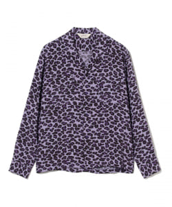 STAR OF HOLLYWOOD / LONG SLEEVE LEOPARD SHIRT