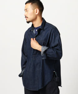 【予約】POST OVERALLS / 1201 No.1 Shirt 1201 デニム
