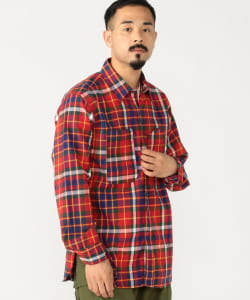 ENGINEERED GARMENTS / Work Shirt Twill Plaid