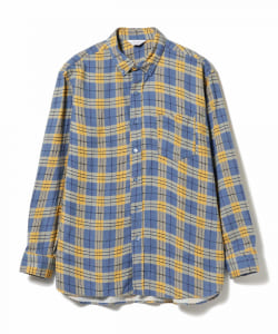UNUSED / Check Flannel Shirt