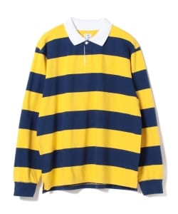 DEAR SKATING × Polar Skate Co. / Stripe Rugby Shirt