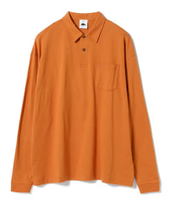 Guru's Cut & Stand × BEAMS T / 別注 Long Sleeve Poloshirt