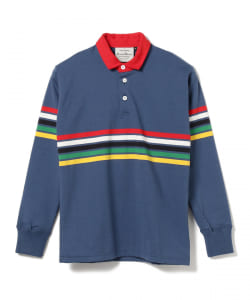 ROWING BLAZERS / MULTI STRIPE RUGBY SHIRT