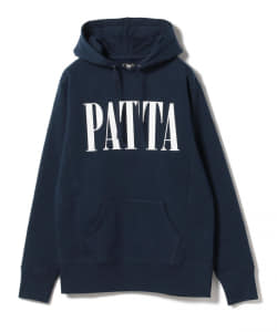 【アウトレット】PATTA / Throw Back Hoodie