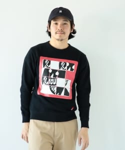 【アウトレット】BLACK HUMOURS by Jody Barton / Sliding Puzzle Crew Sweat