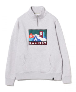 by Parra / Mountains of 1987 Quarter Zip Sweat