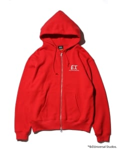E.T. Collection by BEAMS / SWEAT ZIP