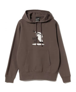 【アウトレット】BEAMS T / Shadow Graphic Sweat Parka