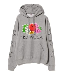 FRUIT OF THE LOOM × BEAMS / 別注 Logo Hoodie