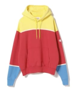 C.E / 3Color Panel Heavy Hoodie