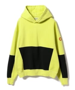 C.E / Over Dye Zig Patch Hoodie