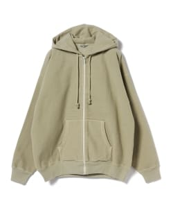 AURALEE / SUPER MILLED SWEAT ZIP PARKA