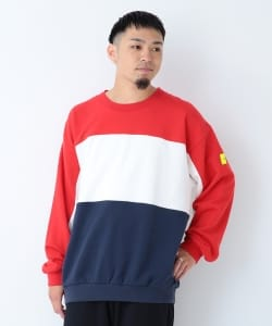 CHARI&CO × BEAMS T / 別注 Moto Sweatshirt