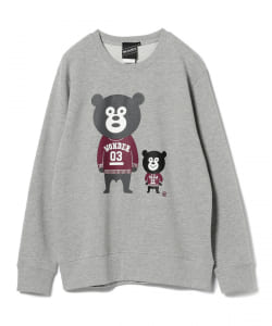 【SPECIAL PRICE】BEAMS T / Ivy Bears Crewneck Sweatshirt