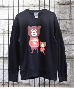 【SPECIAL PRICE】The Wonderful! design works. / Ivy Bears Crewneck Sweatshirt