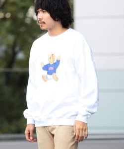 【SPECIAL PRICE】BEAMS T / NEKO Crewneck Sweatshirt