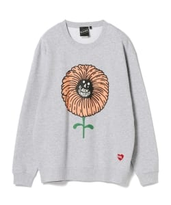 【SPECIAL PRICE】BLACK HUMOURS by Jody Barton / FLOWER Crewneck Sweatshirt