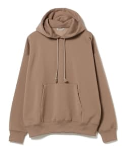 AURALEE / BAGGY POLYESTER SWEAT PULLOVER PARKA