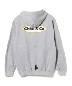 【アウトレット】CHARI&CO / ICE CREAM LOGO ZIP UP HOODIE SWEATS