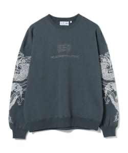 BlackEyePatch / DRAGON CREWNECK SWEATSHIRT