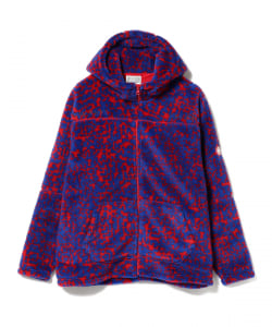 【アウトレット】C.E / NOISE FLEECE ZIP HOODY