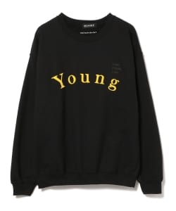 Chaos Fishing Club × BEAMS T / Young Beautiful SWEAT SHIRT