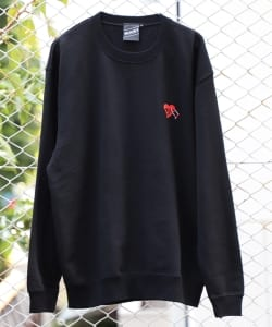 【SPECIAL PRICE】BEAMS T / U Lock Heart CREWNECK SWEATSHIRT
