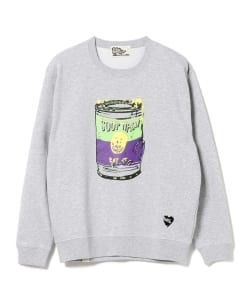 BLACK HUMOURS by Jody Barton / SOUP NASTY CREWNECK SWEATSHIRT