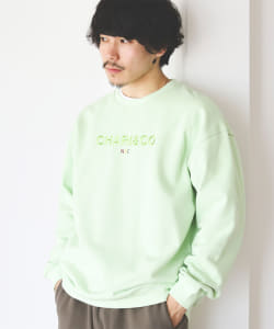 CHARI&CO / NYC BOLD LOGO CREWNECK SWEAT
