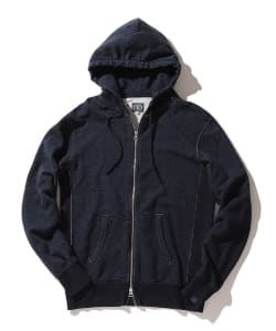 LEVI'S(R) MADE & CRAFTED(R) × LOOPWHEELER / ジップアップ フーディー