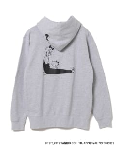 HELLO KITTY × YU NAGABA / KITTY & GIRL SWEAT HOODIE