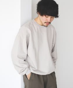 AURALEE / SUPER SOFT SWEAT BIG PULLOVER