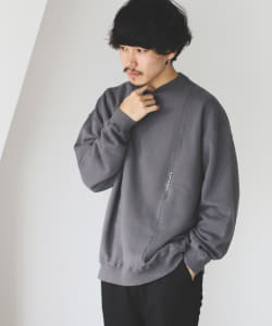 Crepuscule / Garment dye Crewneck Sweat
