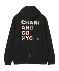 CHARI&CO × BEAMS T / 別注 ANIMAL LOGO HOODY
