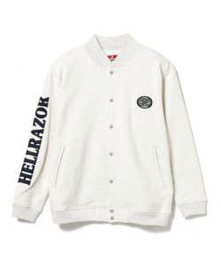 HELLRAZOR / SWEAT SNAP JACKET