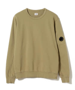 C.P. Company / Light Fleece Garment Dyed スウェットシャツ